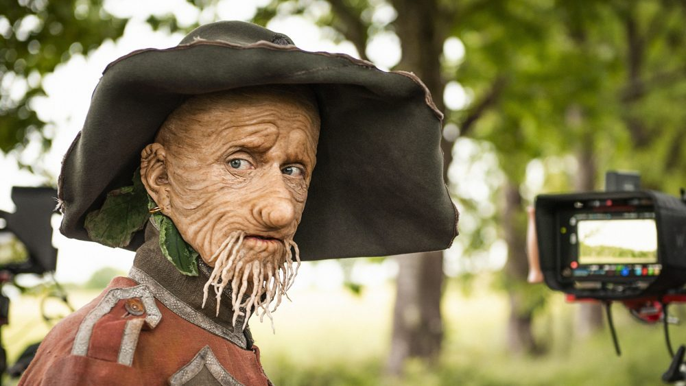 Mckenzie crook as Worzel, photo: BBC