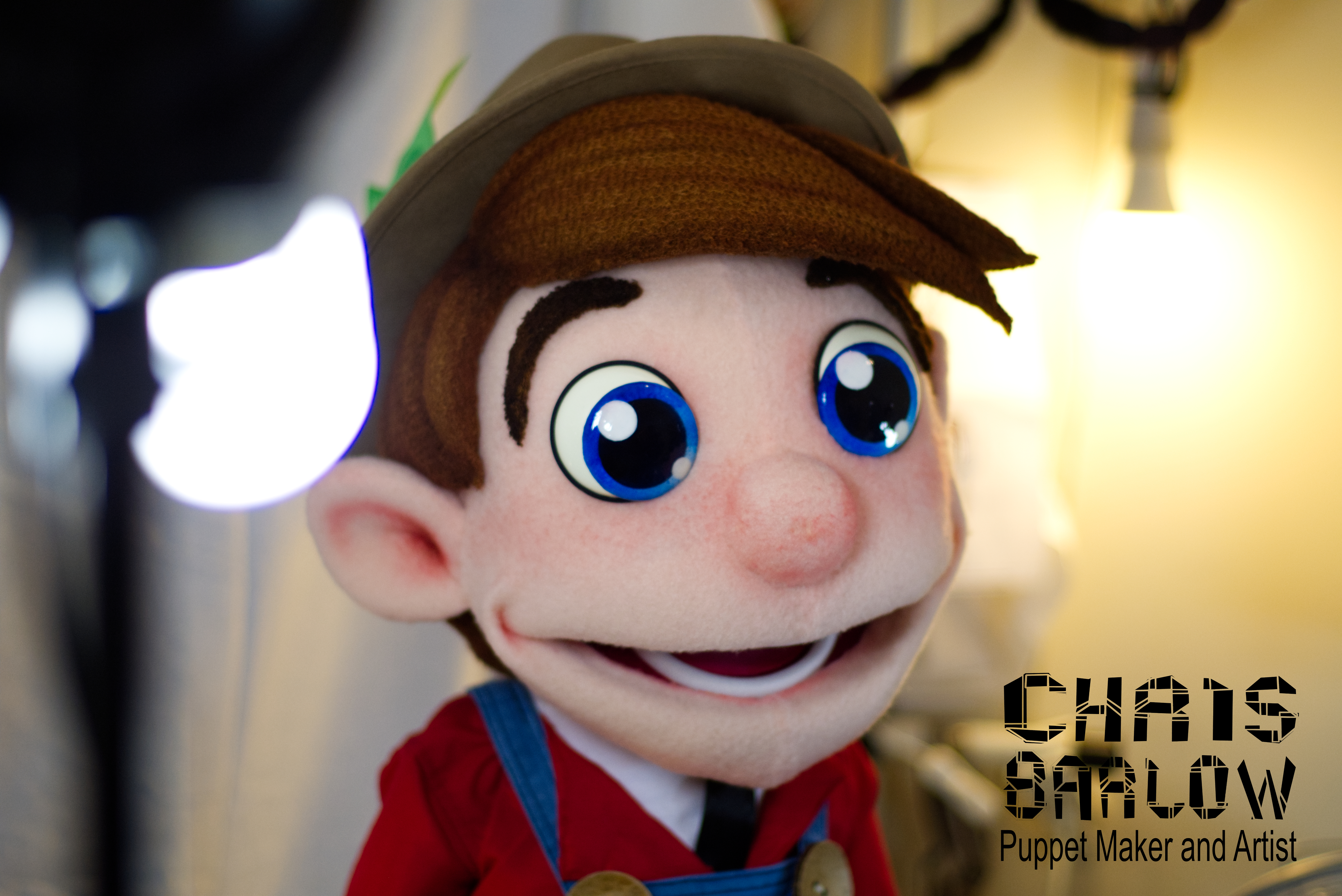 idle farmer on set puppet example