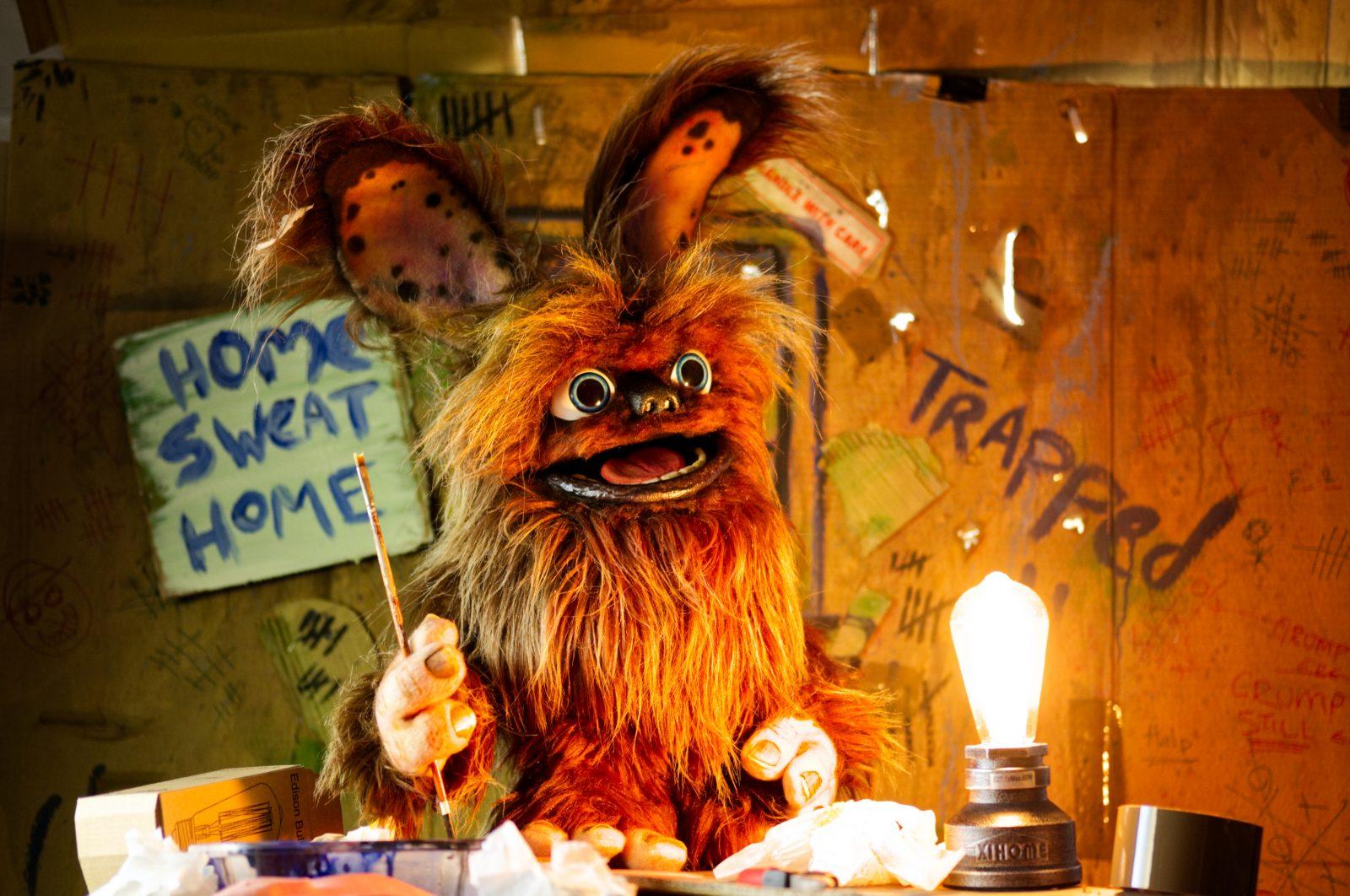 grump puppet
